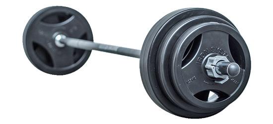 Hot Iron® Langhantel-Set Standard