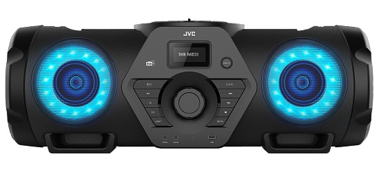 "JVC Musikanlage  ""Boomblaster"" RV-NB300DAB"