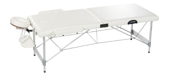 Koffer-Massageliege Gestell aus Aluminium