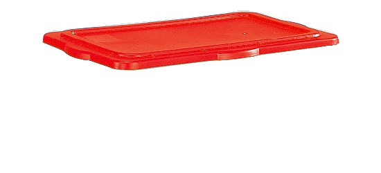 Låg til materialekassen Rød