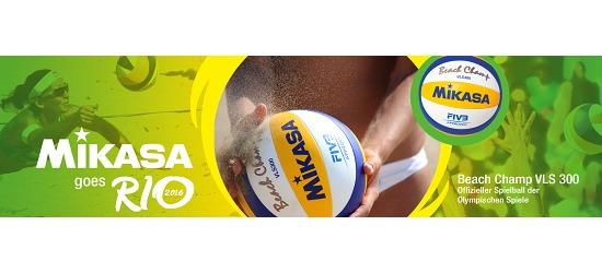 """Mikasa® Beach-Volleyball """"Beach Champ VLS 300"""""""