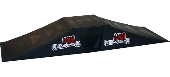 """Mini Airbox"" Skateboard Ramp"
