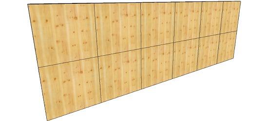 "OnTop® Boulderwand-Bausatz ""Indoor Natur Pur"", Höhe 2,48 m 744 cm, Ohne Überhang"