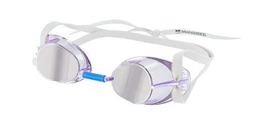 Original Malmsten-Schwedenbrille Jewel Collection Amethyst – Lila