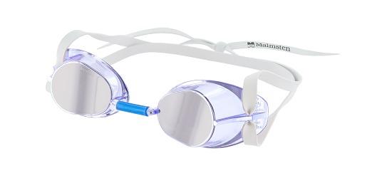Original Malmsten-Schwedenbrille Jewel Collection Saphir - Hellblau
