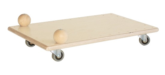 """Pedalo® """"Classic"""" Roller Board With ball handles"""