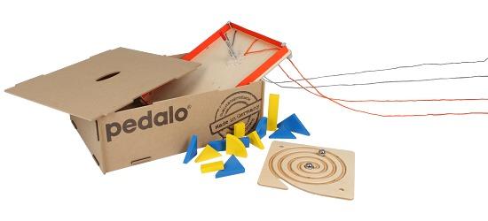 "Pedalo® ""Three"" Team Game Box"