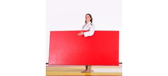 "ProGame Trocellen® Judomatte ""TIS"" Rot"