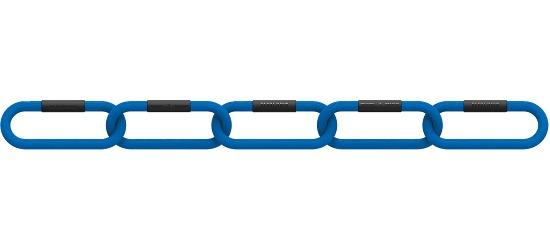 """Reaxing® Gewichtsketten """"Reax Chain Fit 5"""" 4 kg, Blau"""