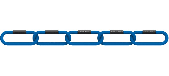 """Reaxing® """"Reax Chain Fit 5"""" Weight Chains 4 kg, blue"""