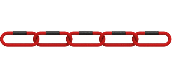 """Reaxing® """"Reax Chain Fit 5"""" Weight Chains 8 kg, red"""