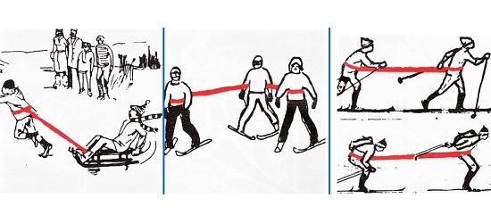 "Reivo Bånd ""Ski"", 4 m."