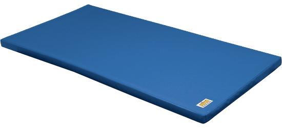 """Reivo® Gymnastikmåtte """"Sikker"""" Polygrip blå, 200x100x8 cm"""