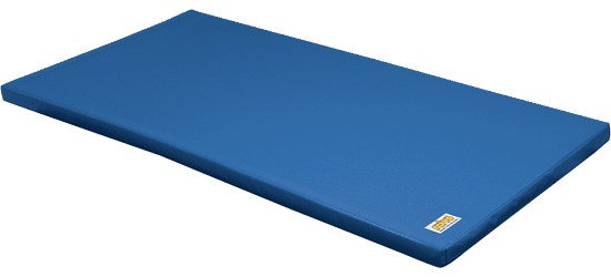 "Reivo® ""Safe"" Combi Gymnastics Mat Blue gymnastics mat material, 150x100x6 cm"
