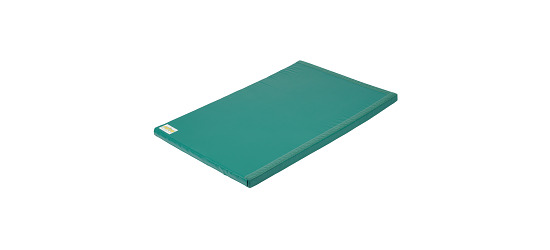 "Reivo® ""Safety"" Combi Gymnastics Mat Green Polygrip, 200x100x8 cm"