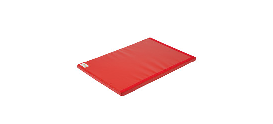 "Reivo® ""Safety"" Combi Gymnastics Mat Red Polygrip, 150x100x6 cm"