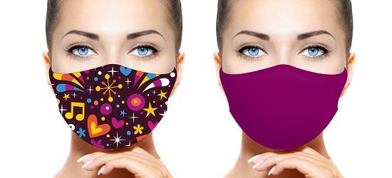Set Gesichts- und Alltagsmasken Damen
