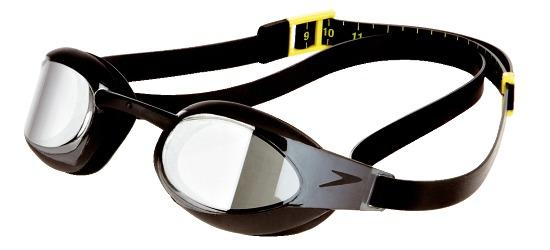 Speedo® Schwimmbrille Fastskin3 Elite Goggle Mirror Black/Smoke