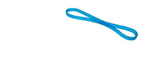 "Sport-Thieme® Bodytrainer ""Loop"" Schwer, Blau"