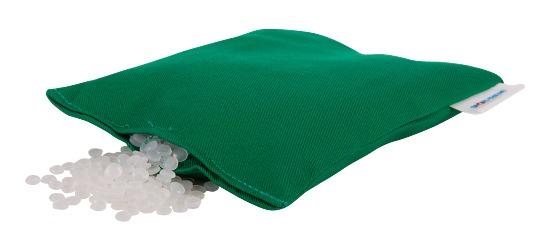 Sport-Thieme® Bohnensäckchen, waschbar 120 g, ca. 15x10 cm, Grün