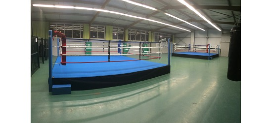 "Sport-Thieme® Boxring ""Training"" 5x5 m"