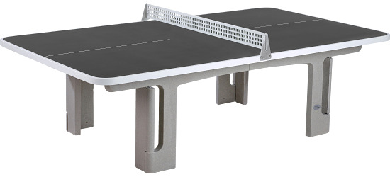 "Sport-Thieme® ""Champion"" Polymer Concrete Table Tennis Table Anthracite"