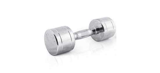 Sport-Thieme® Chromhanteln ergonomisch 6 kg