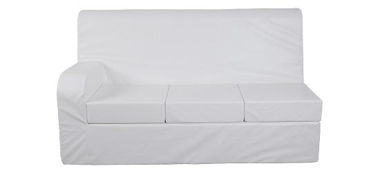 Sport-Thieme® Convertible Sofa 3-seater sofa, left armrest, 5 cm
