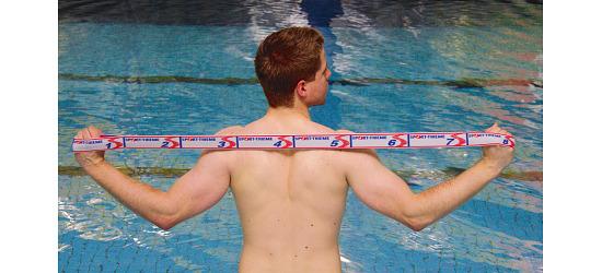 Sport-Thieme® Elastiband 20 kg, Grau