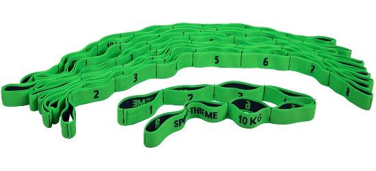 Sport-Thieme® Elastisches Textilband-Set Zugstärke 10 kg