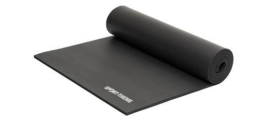Sport-Thieme Fitnessmatte Schwarz