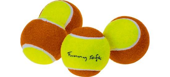 "Sport-Thieme® ""Funny Soft"" Practice Balls Set of 4"