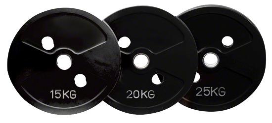 Sport-Thieme® Gusseisen Wettkampf Hantelscheiben-Set, 50 kg