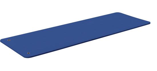 """Sport-Thieme Gymnastikmatte  """"Basic 15"""" Mit Ösen, Blau"""