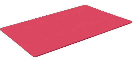 "Sport-Thieme® Gymnastikmatte ""Studio 15"" Standard, Rot"