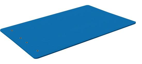"""Sport-Thieme® Gymnastikmatte """"Studio 15"""" Mit Ösen, Blau"""