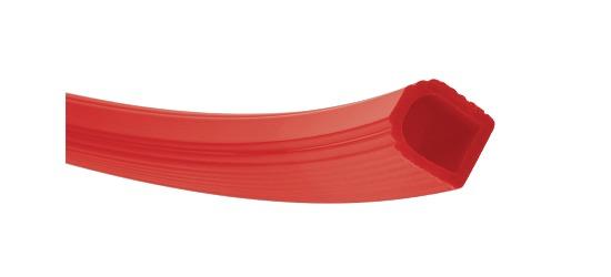 Sport-Thieme® Gymnastikring af Kunststof Rød, ø 50 cm