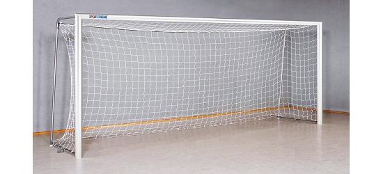 Sport-Thieme Indoor Football Goal, 5x2 m 120x100-mm oval tubing