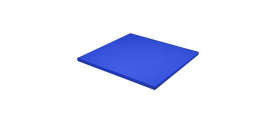 Sport-Thieme® Judo Mat Size approx. 100x100x4 cm, Blue