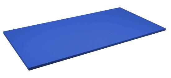 Sport-Thieme® Judo Mat Size approx. 200x100x4 cm, Blue