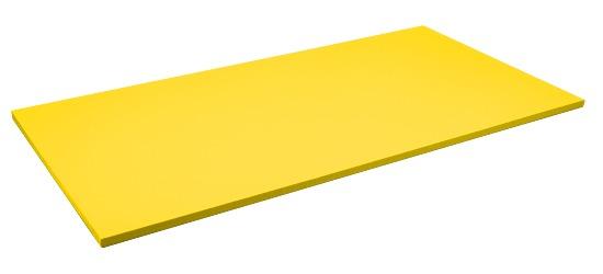 Sport-Thieme Judo Mat Size approx. 200x100x4 cm, Yellow