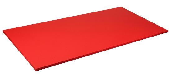Sport-Thieme® Judomåtte Måttestørrelse ca. 200x100x4 cm, Rød