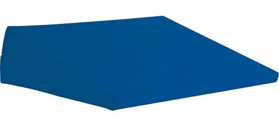 Sport-Thieme® Keilkissen Blau, 45x35x12/2 cm