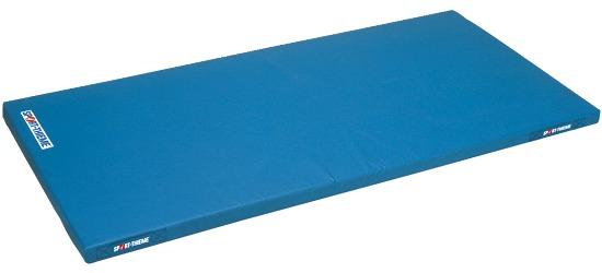 Sport-Thieme® Kinder-Leichtturnmatte, 150x100x6 cm Mit Tragegriffen, Blau