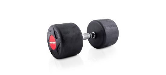 Sport-Thieme® Kompakthantel Gummi 25 kg