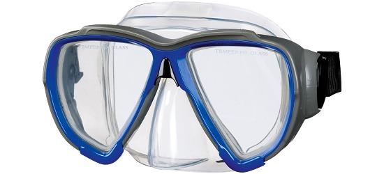 Sport-Thieme Masken-Schnorchel-Set für Erwachsene 36–39