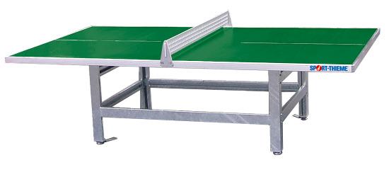 """Sport-Thieme® Polymer-Beton-Bordtennisbord """"Standard"""" Grøn"""