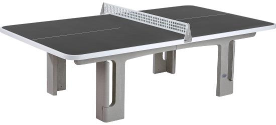 """Sport-Thieme® Polymerbeton-Tischtennisplatte """"Champion"""" Anthrazit"""