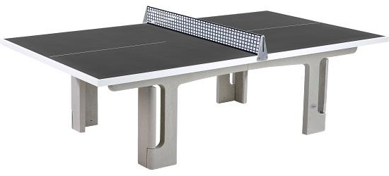 """Sport-Thieme® Polymerbeton-Tischtennisplatte """"Profi"""" Anthrazit"""