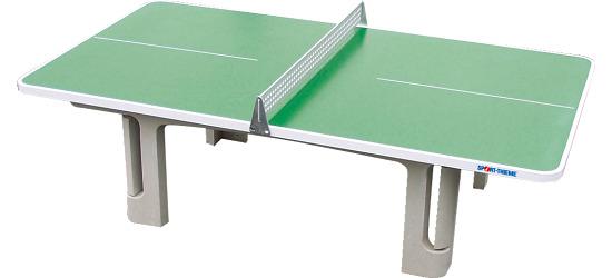 """Sport-Thieme Polymerbeton-Tischtennistisch """"Champion"""" Grün"""
